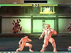 Street Fighter V Sexy Battles #44 Ibuki vs Nash