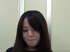 Japanese Teen Spread Lips