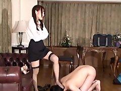 Umi Hinata Provocative Tutor and Chastity Belt