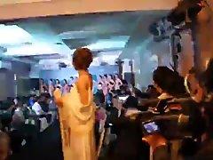 Thai Fashion show backstage