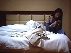 Chinese Outcall Hooker - Blue Gown