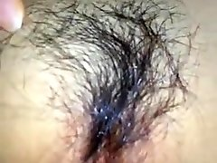 Playing with korean pussy